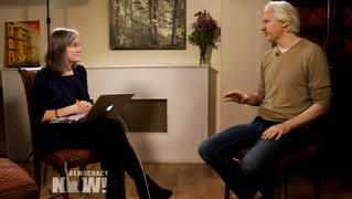 Amy Goodman and Julian Assange