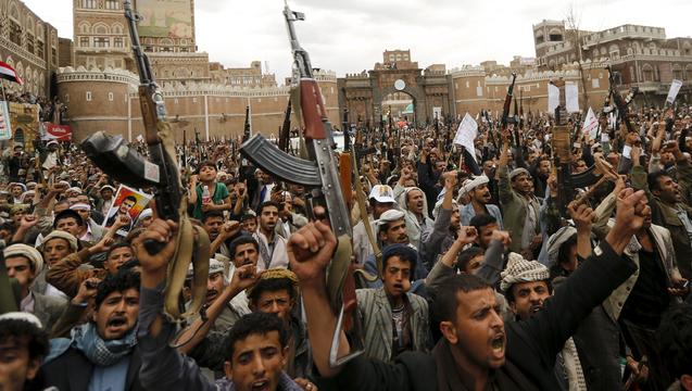 Yemen houthi rebels 1