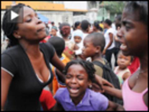Haiti quake criesdn