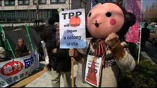 Japan tpp protest3