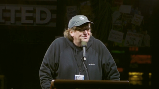 Michael moore trump inauguration speech