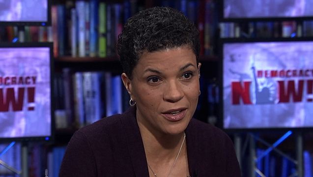 "Michelle Alexander: Ferguson Shows Why Criminal Justice System of ""Racial Control"" Should Be Undone"