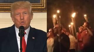 Trump nazi protesters