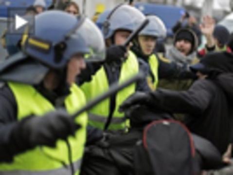 Cop15 arrests dn