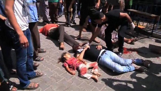 Gazashelterattack