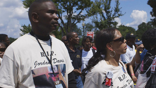 Davis mcbath dunn rally protest black lives matter