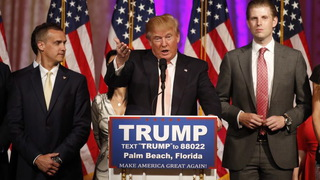 Trump victoryspeech