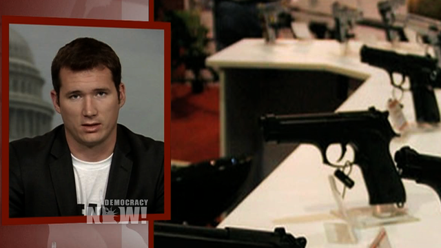 Colin goddard gun control