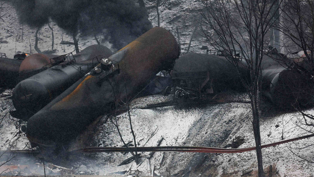 Westvirginia oil train derailment 2