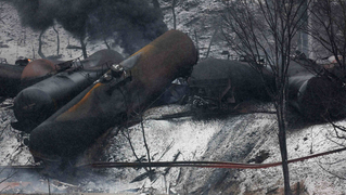 Westvirginia oil train derailment 2