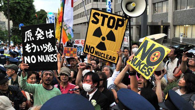 Anti nuke protest 2