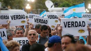 Argentina nisman protests 2