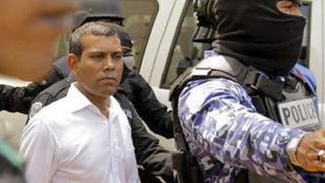 Nasheed arrest