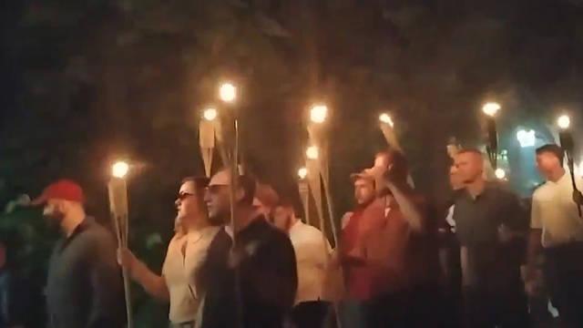 Seg torches charlottesville