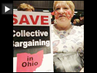 Labor Protests to Defend Collective Bargaining Rights Spread to Ohio