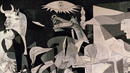 Amy Goodman in Spain on the 75th Anniversary of Guernica Bombing, Portrayed by Picasso Painting