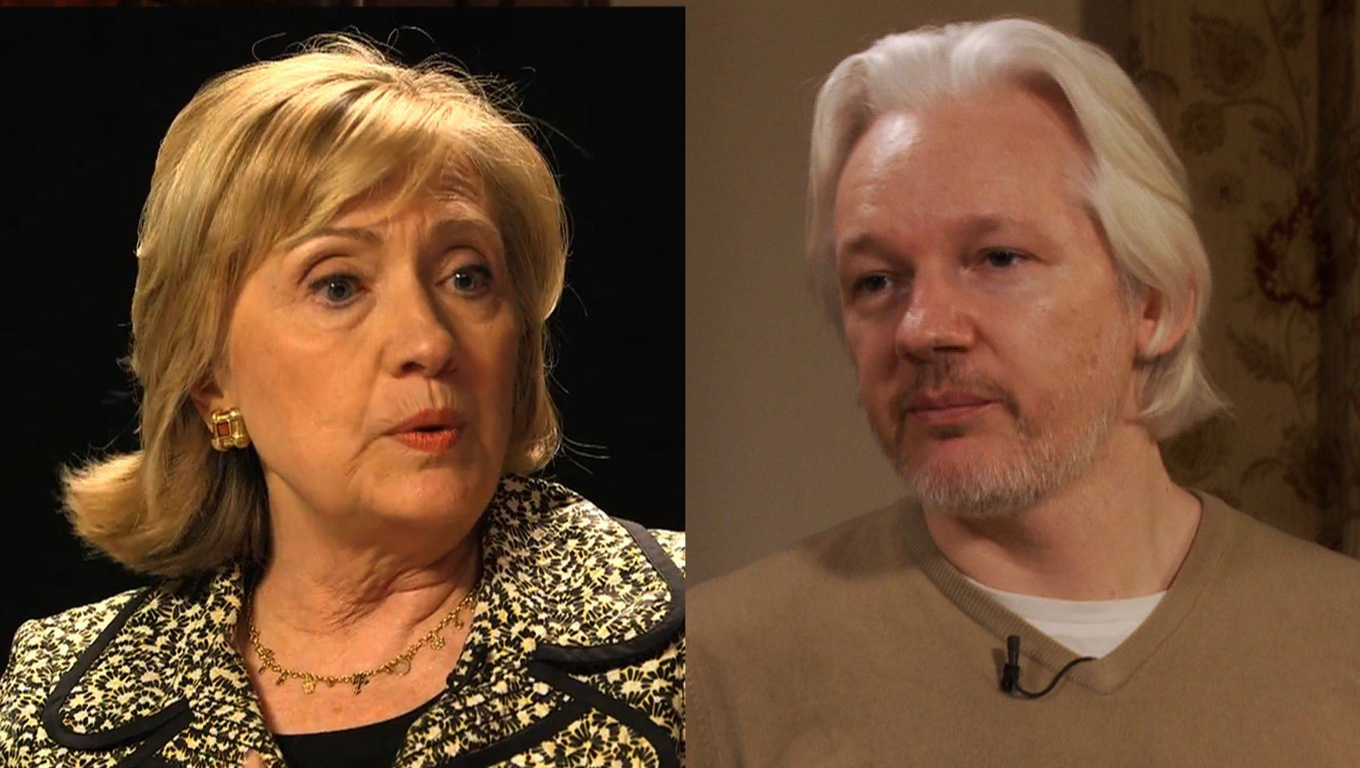 watch full interview julian assange trump emails russia vault more