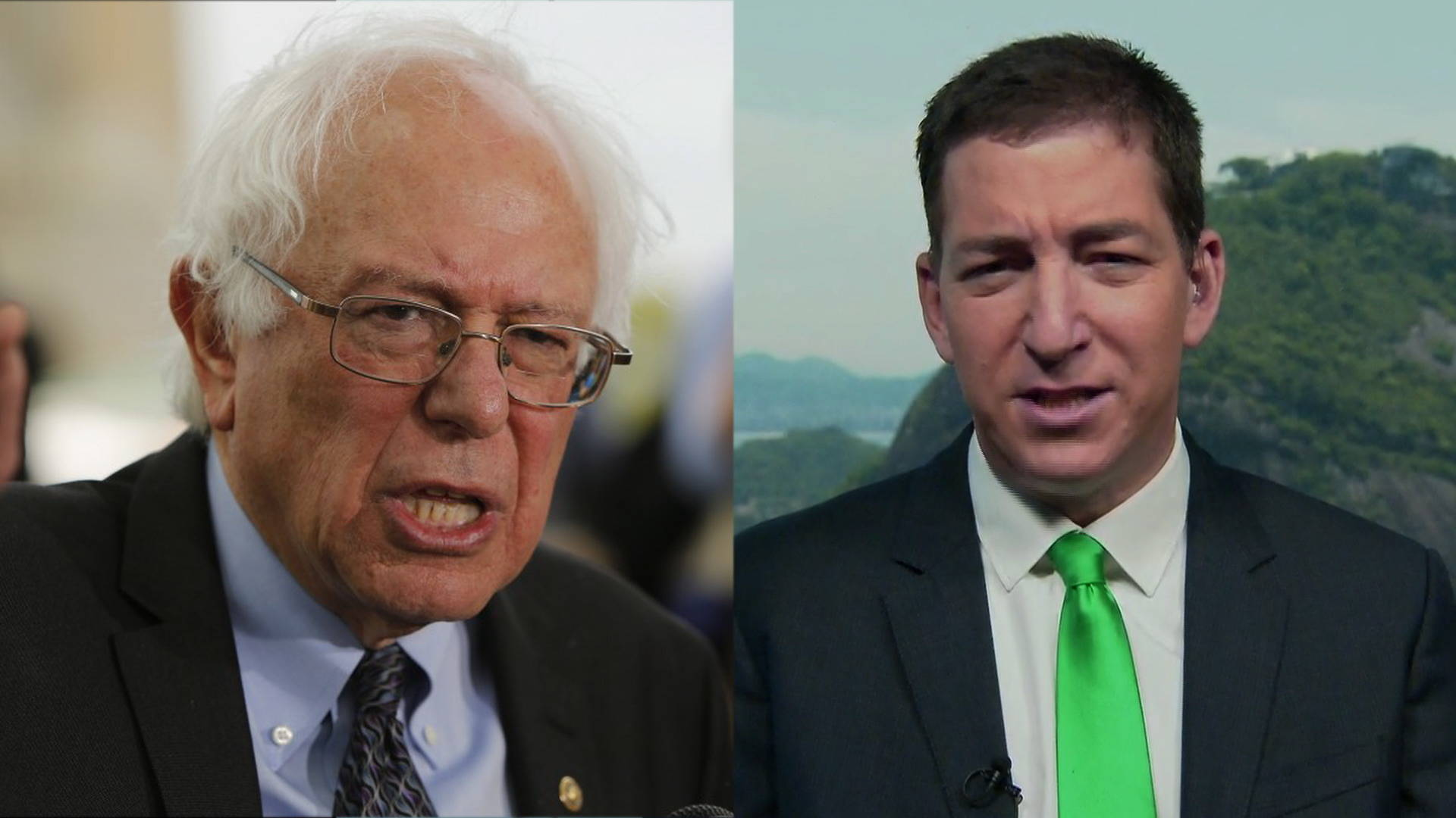 glenn greenwald bernie sanders would have been a stronger candidate