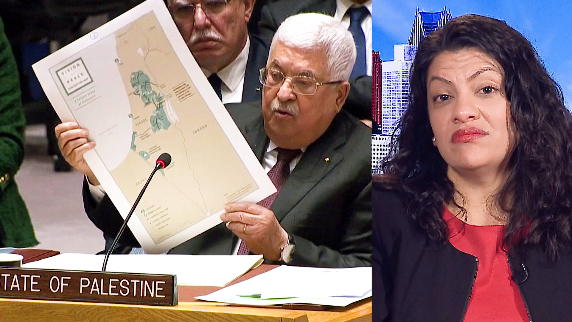 """Rep. Rashida Tlaib: Trump's """"Racist"""" Plan Would Legalize the Theft of Palestinian Land"""