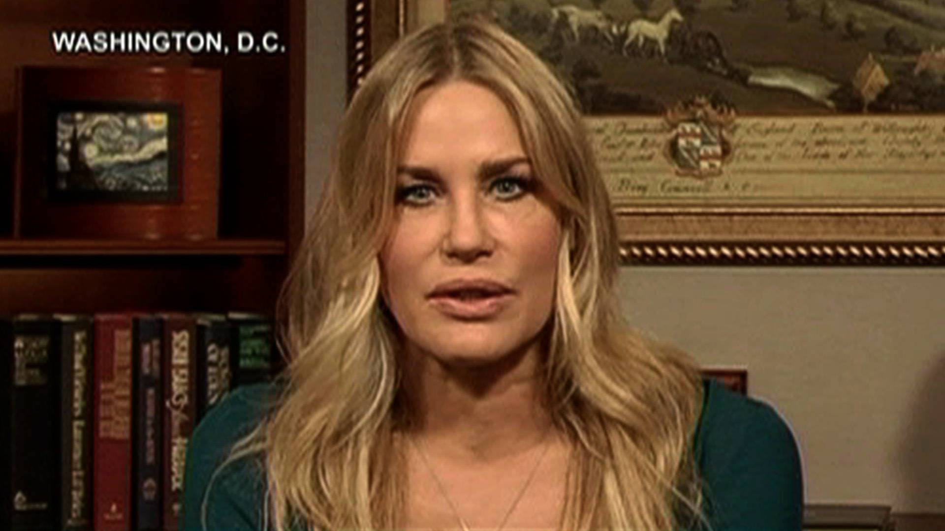 �we need to push him� actress daryl hannah arrested while