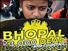 Hundreds of Survivors of Bhopal Disaster Protest Obama India Visit