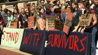 Campus assault rape victims survivors college university