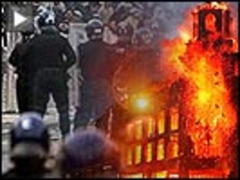London riots button