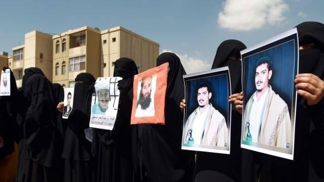 Gitmo protest in yemen