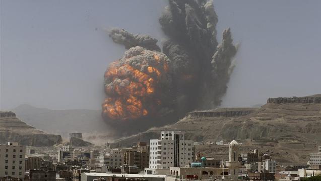 Yemen saudi airstrike houthi 1