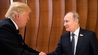 Trump putin g20 shake