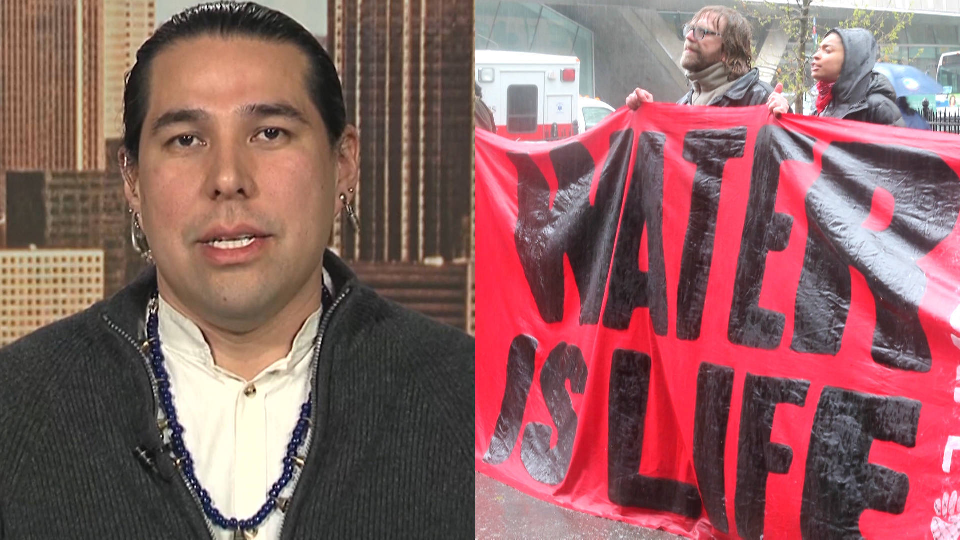 Dallas Goldtooth: Hold Banks Accountable for Financing Climate Chaos & Violating Indigenous Rights