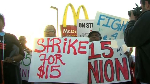 Fast Food Low Wages And Breakingnewsinenglish
