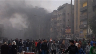 Egypt anniversary 2011 mubarak cairo protest riot 02