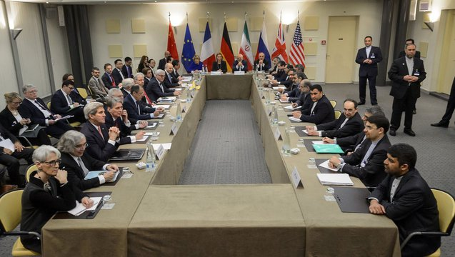 Iran nuclear talks lussanne switzerland