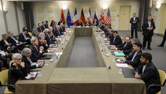 Iran nuclear talks lussanne switzerland