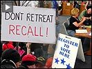 Wisconsin recall button