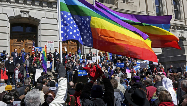 Indiana lgbt religious freedom rfra discrimination pence