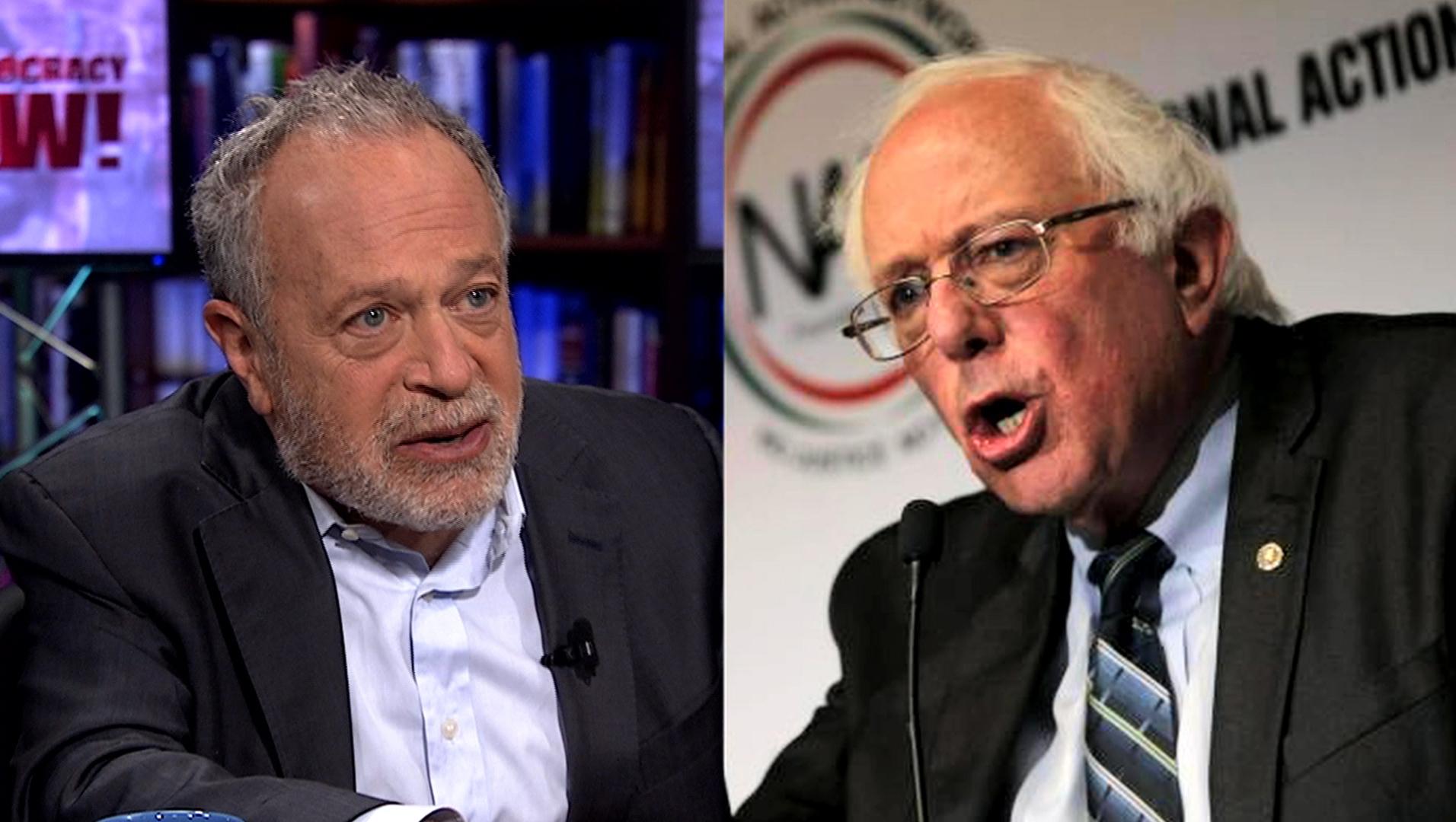 Bernie Sanders Tells the Truth: Former Clinton Labor Secretary Robert Reich on His Surging ...