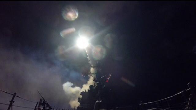 S1 airstrike syria