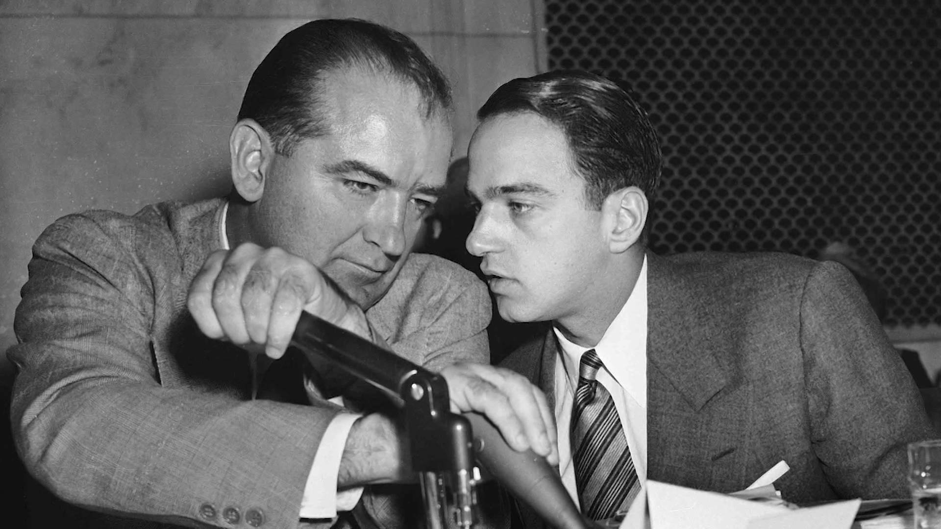 Image result for JOE MCCARTHY ROY COHN