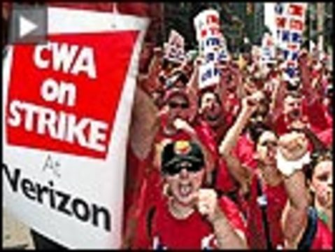 Verizon strike button