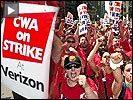 Verizon strike button