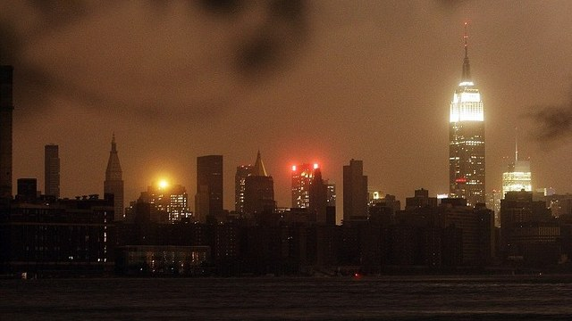 Nyc dark sandy
