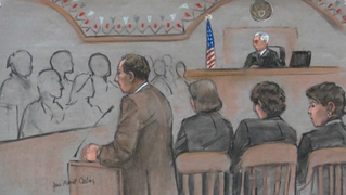 Boston bombing trial tsarnaev sketch