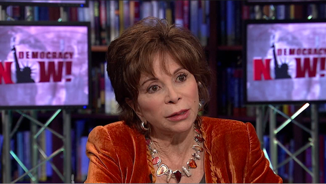 Isabel allende democracy now