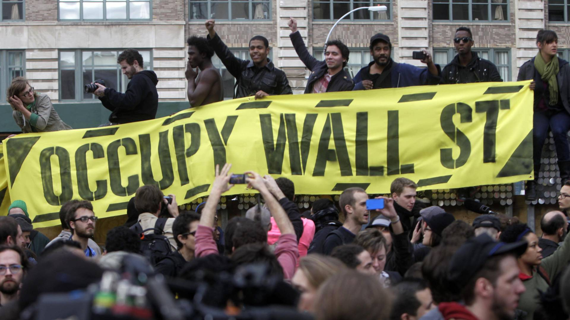 years  occupy wall street  network  offshoots continue activism