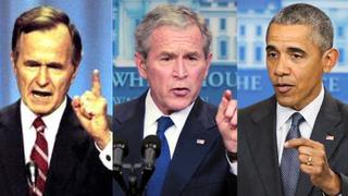 Bushsr bushjr obama