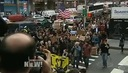 Occupy Wall Street Protesters Return to Zuccotti Park After 200 Arrested, Camping Barred