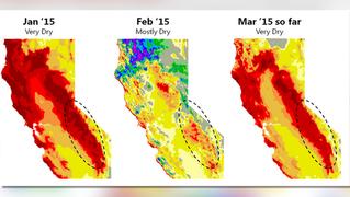 California drought map 1