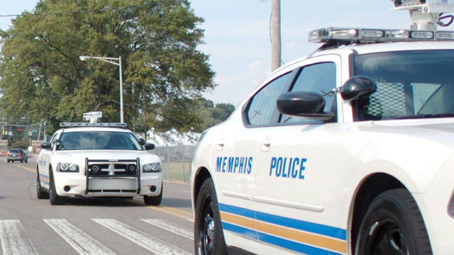 Memphis police car